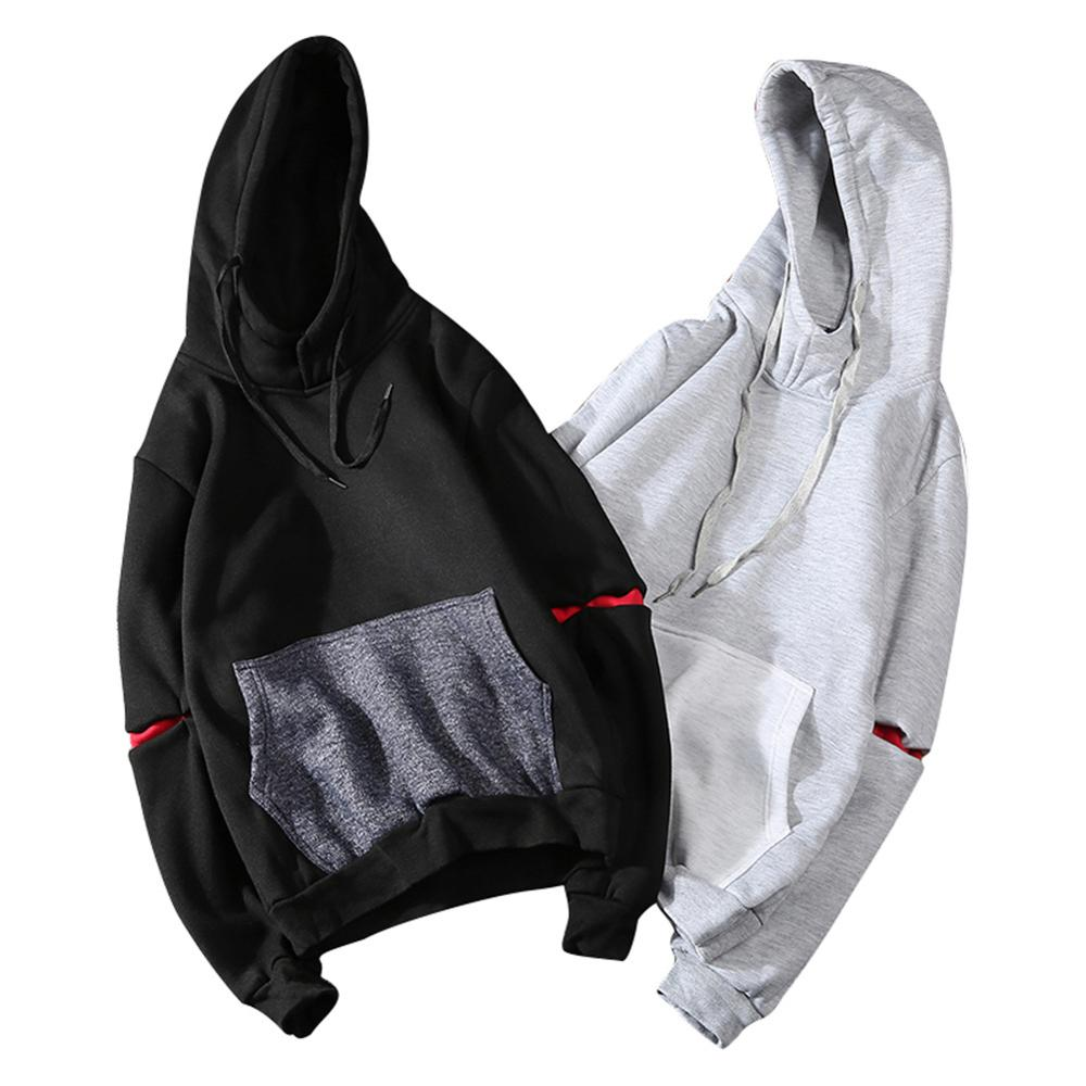 Men Sweatshirt Hoodies Spring Autumn Men Hip Hop Pullover Sweatshirts Slim Fit Street Clothing Hooded Men hoody