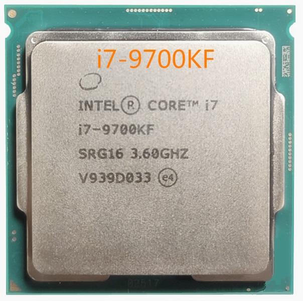 [해외] 인텔 코어 i7 9700KF 3.6G 12MB CPU i7-9700KF 소켓 1151 / H4 / LGA1151 14nm 옥타 코어 CPU