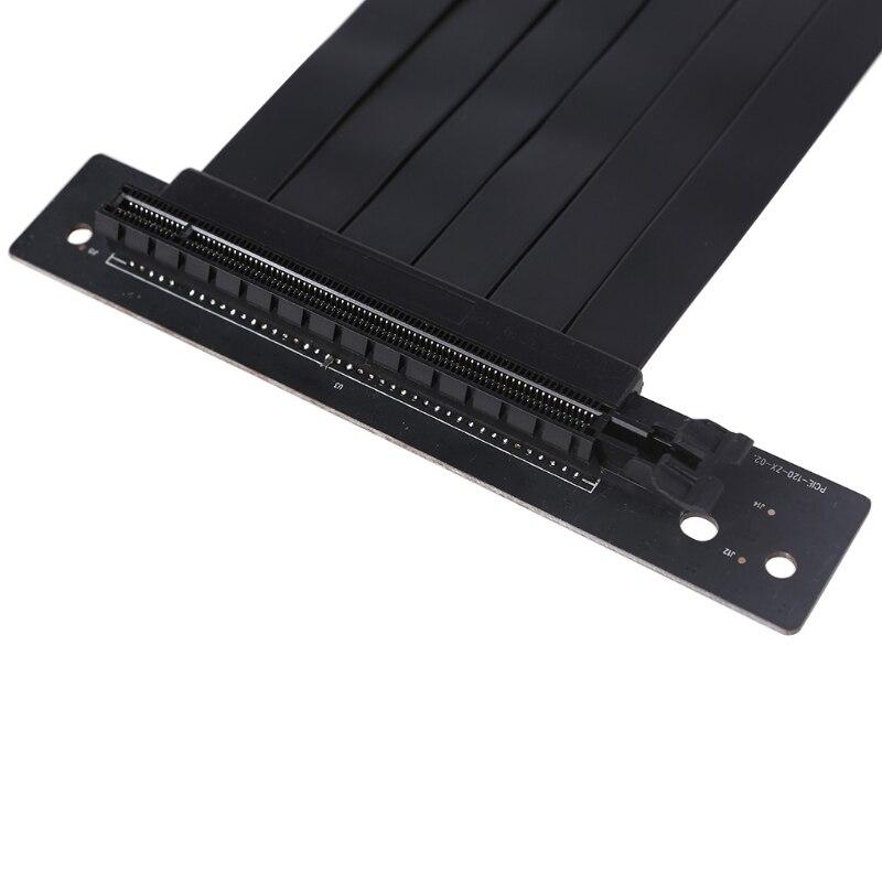 W3JD Удлинительный кабель для видеокарты 30 см, Удлинительный кабель для видеокарты GPU, вертикальный гибкий удлинитель карты
