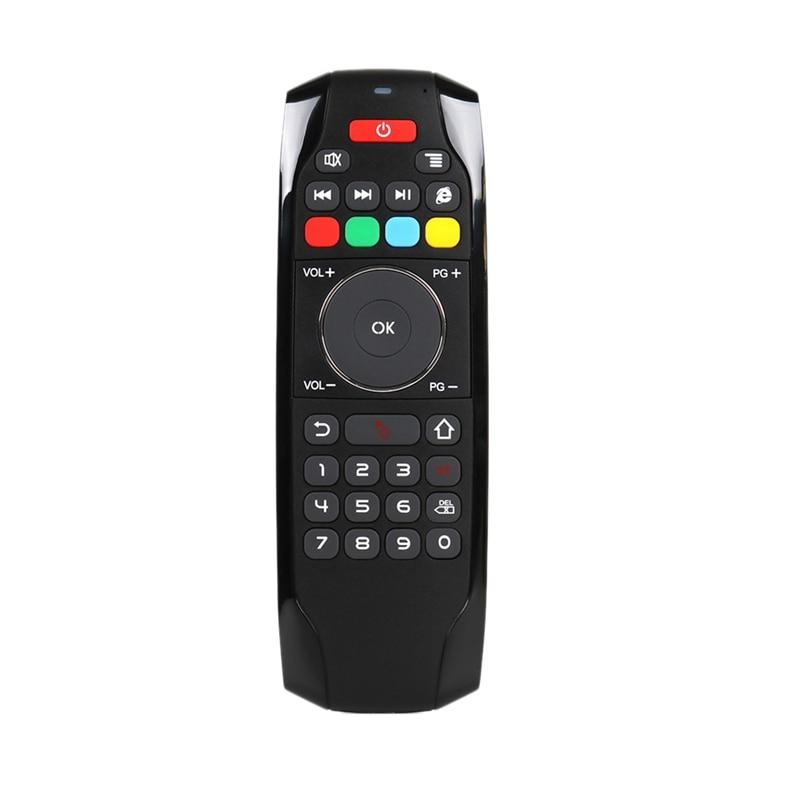 G7 2,4G Fly Air Mouse con función de aprendizaje IR Mini teclado inalámbrico Control remoto Universal para Dispositivo de TV inteligente