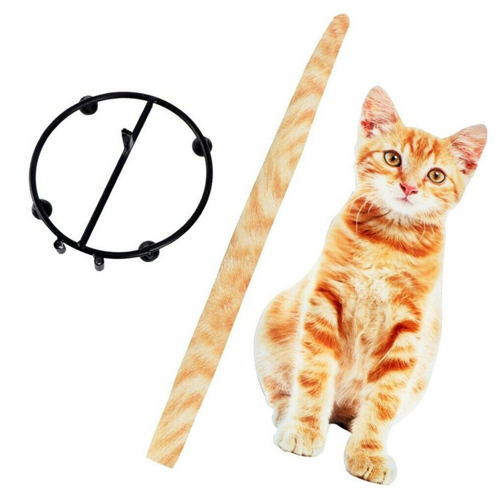 حامل الورق القط شكل الحمام ورق التواليت تخزين الرف هدية لمحبي القط DFK889