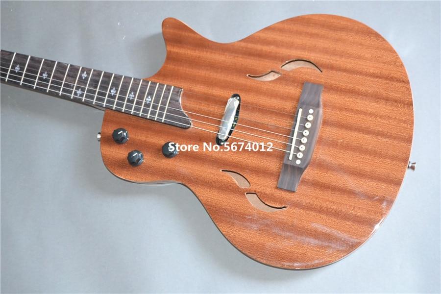Diapasón de palisandro, caja de guitarra eléctrica Heritage classic de madera de caoba original, envío gratis