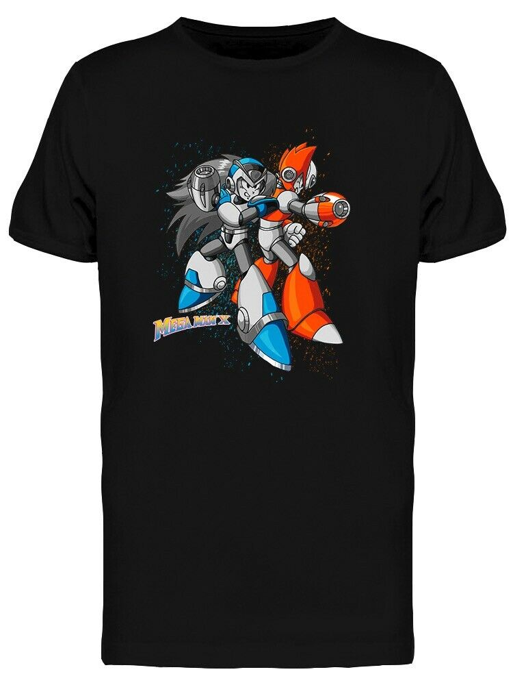 Camiseta Megaman X Rockman Zero Art, Estilo libre