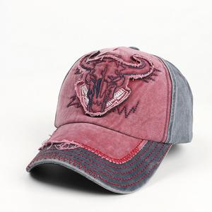 2021 four seasons Cartoon patchwork Cow head embroidery Casquette Baseball Cap Adjustable Snapback Hats for men and women 122