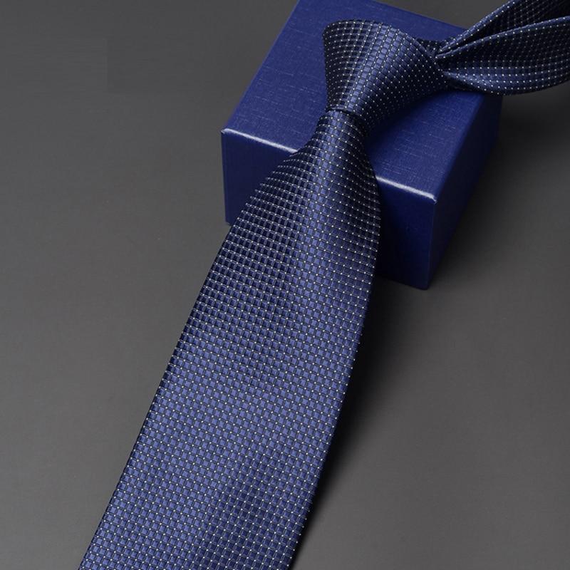 Classical Black Tie 2020 New Arrivals  9CM Wide Ties For Men Business Work Necktie Fashoin Formal Neck Tie With Gift Box HA91