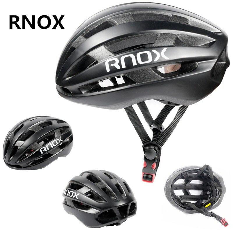 RNOX Ciclismo de Carretera Casco 185g rojo bicicleta Mtb bicicleta Casco para...