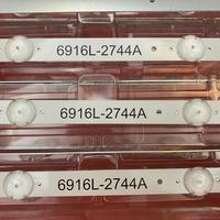 3 PCS/set LED Backlight strip For LG 43UH620V 43UH610T 43UH630V 43UH603V 43 V16.5 ART3 2744 6916L-2744A UHD 1 LC430DGE (FJ) (M2)