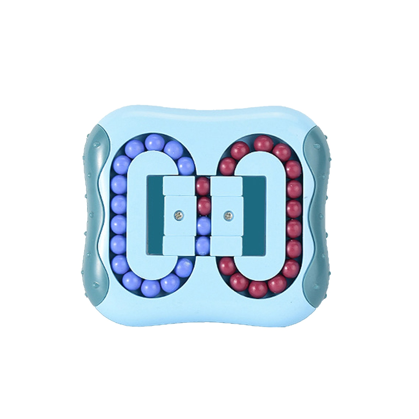 Rotating Magic Bean Intelligence Fingertip Cube Children Finger Gyro Magic Disk Educational Cube Toys enlarge