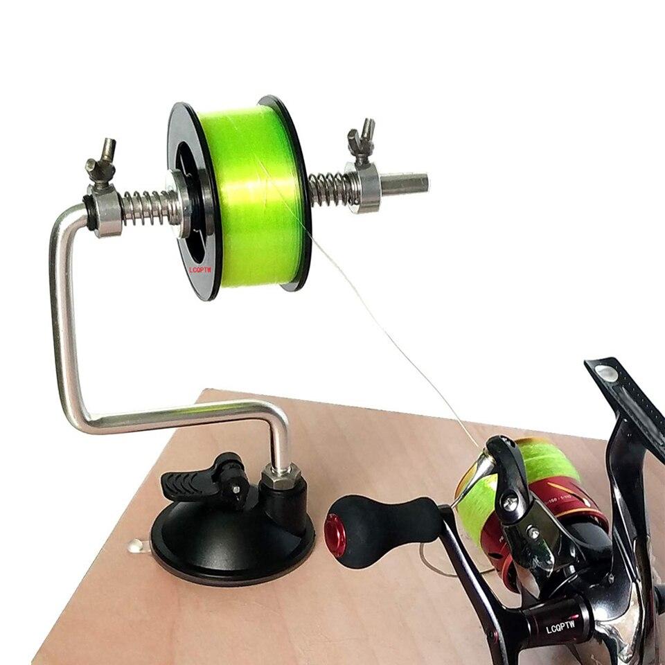 2019 nueva línea de pesca bobinadora carrete de pesca carrete Dispositivo de bobinado Sistema de carrete herramienta de aparejos portátil