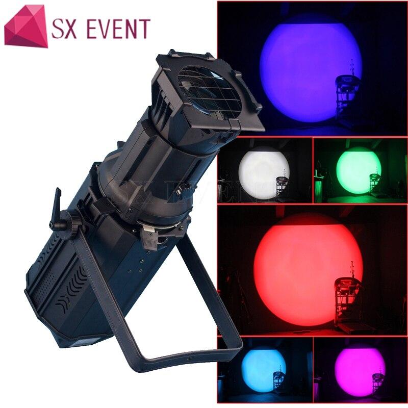 200 واط RGBW LED الشخصي بقعة ضوء Led ضوء Leko
