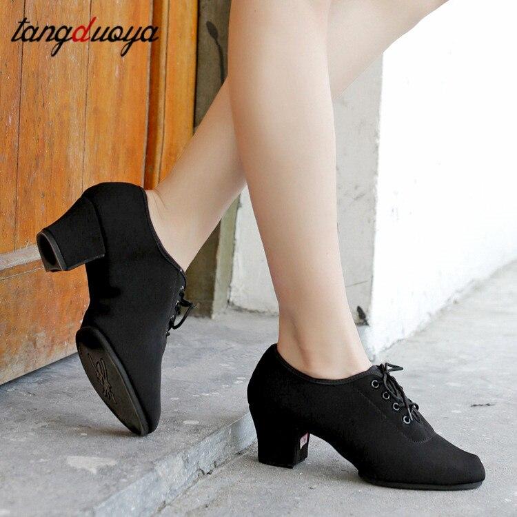 Zapatos de baile Latino para Salsa, zapatos profesionales para mujer para baile...