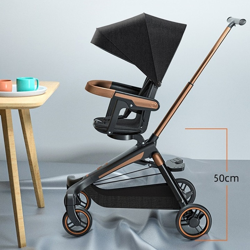 Baby Lightweight Stroller Summer Foldable Infant Baby Car Children Pushchair 360 Rotation Seat Kids Trolley Baby Carriage Cart enlarge