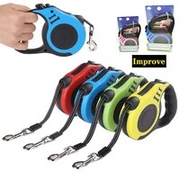 durable dog leash automatic retractable nylon cat dog lead extension puppy walking running lead roulette for dogs dog harness