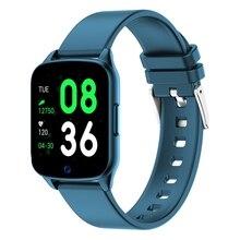 Kw17 스마트 시계 여성 심박 측정기 남성 스포츠 smartwatch 메시지 알림 android 및 ios 용 피트니스 트래커