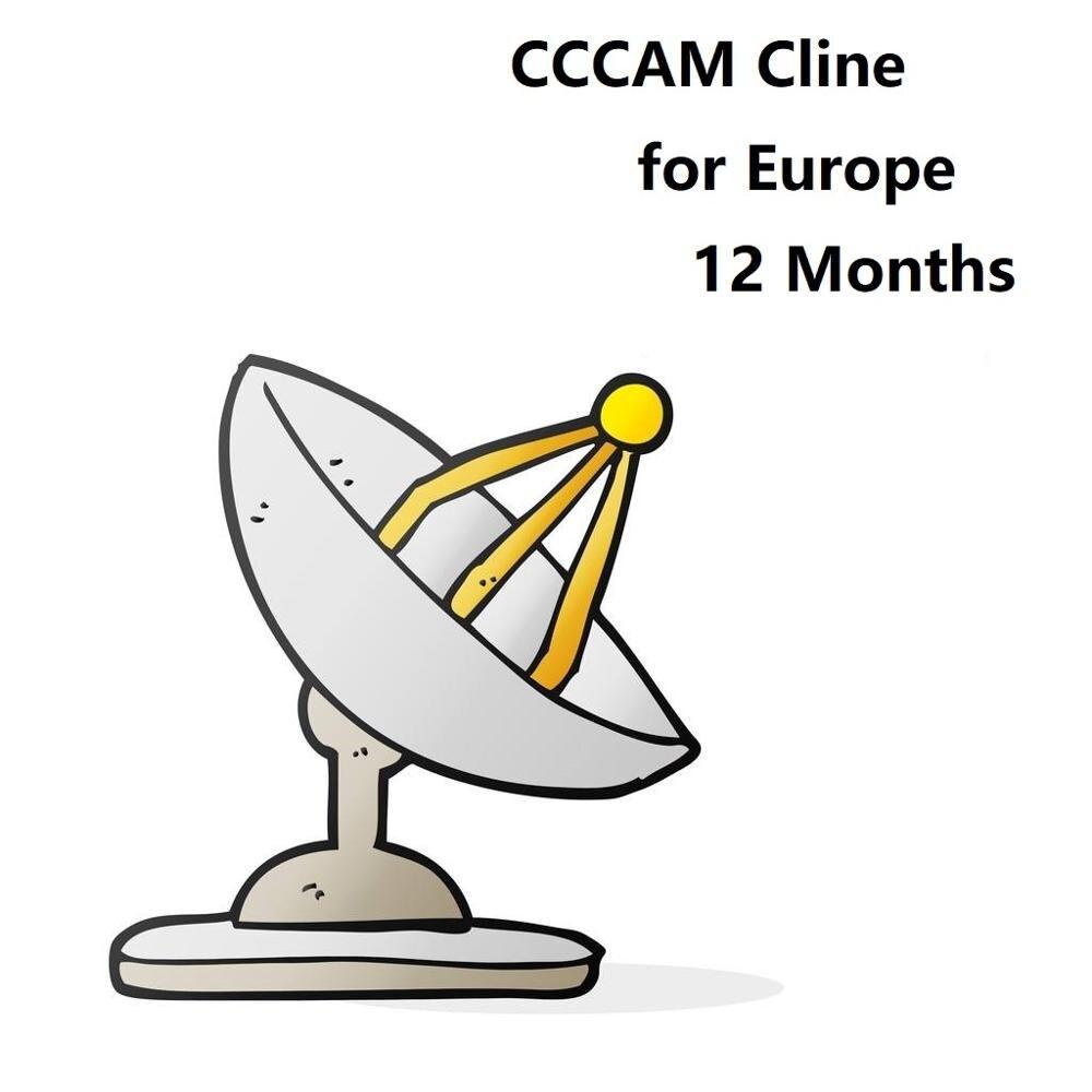 OSCAM servidor revendedor panel CCCAM Línea C líneas para Canal + 4K Polonia + 4K Alemania MGCAMD NEWCAM c-clines para receptor de satélite HD