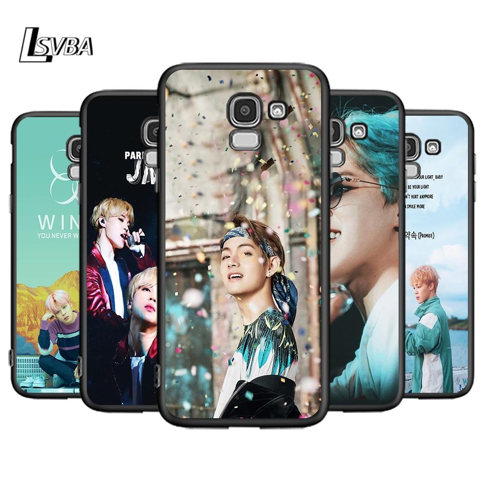 Parque Jimin K Pop para Samsung Galaxy J2 J3 J4 Core J5 J6 J7 J8 primer duo Plus 2018, 2017 de 2016, cubierta del teléfono de silicona