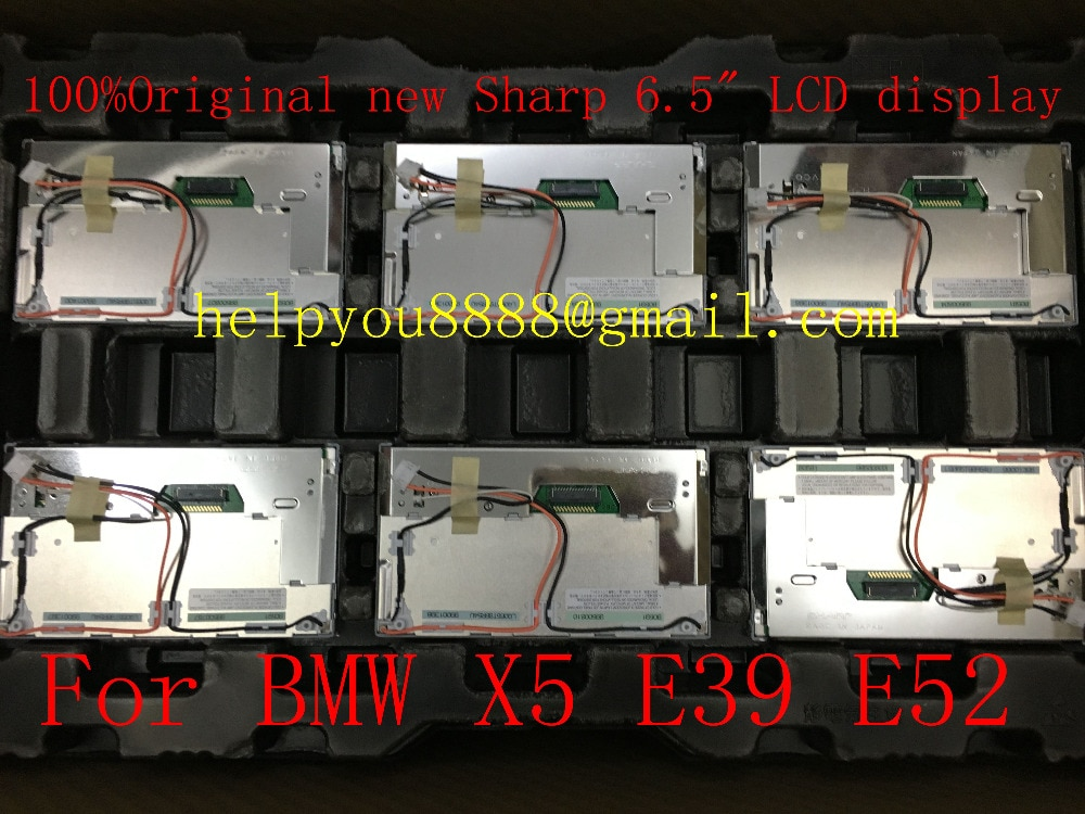"LQ065T9BR54U LQ065T9BR55U LQ065T9BR52U 6.5"" inch LCD screen display for BMW car navigation 2pcs/lot"