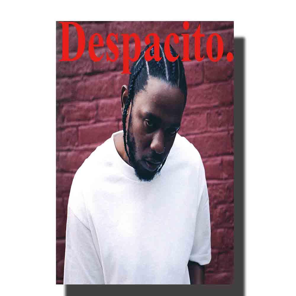 Póster de regalo M499 Kendrick Lamar DAMN singer lienzo impreso imágenes artísticas Tela de decoración 12x18