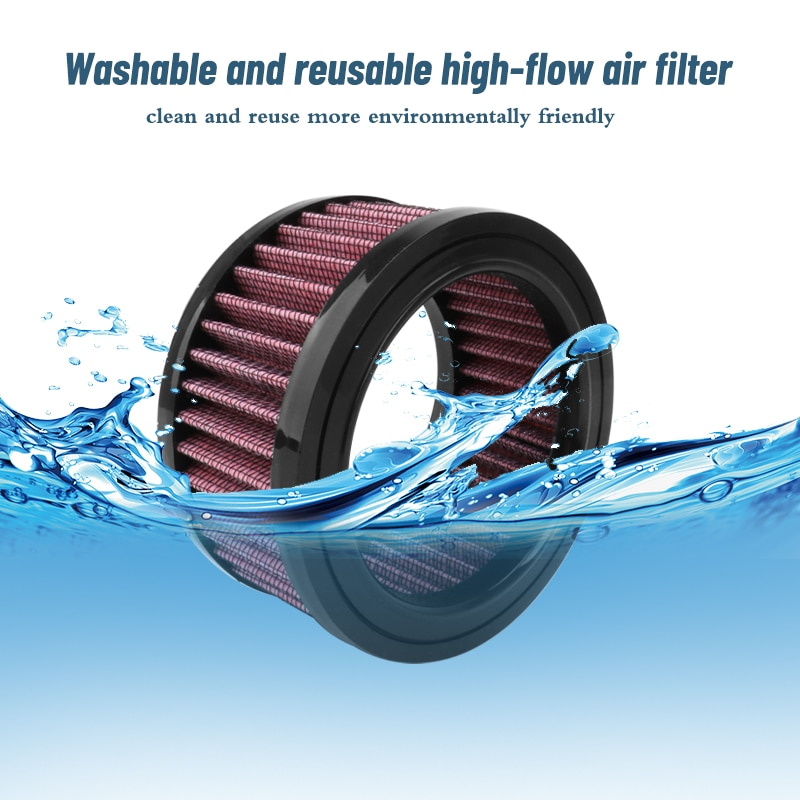 Motorcycle Air Filter For Harley Air Cleaner Air Filter  Round High Flow Air Cleaner