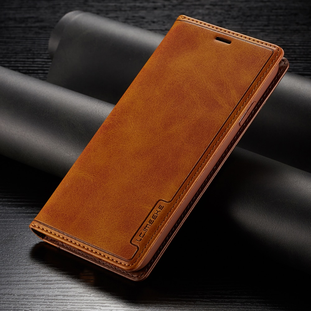 YXAYN Contrast Color Flip Leather Cases Magnetic Leather Holster For Apple iPhone12Mini11 Pro X XR XS MAX ProMAX 8 7 Plus Case