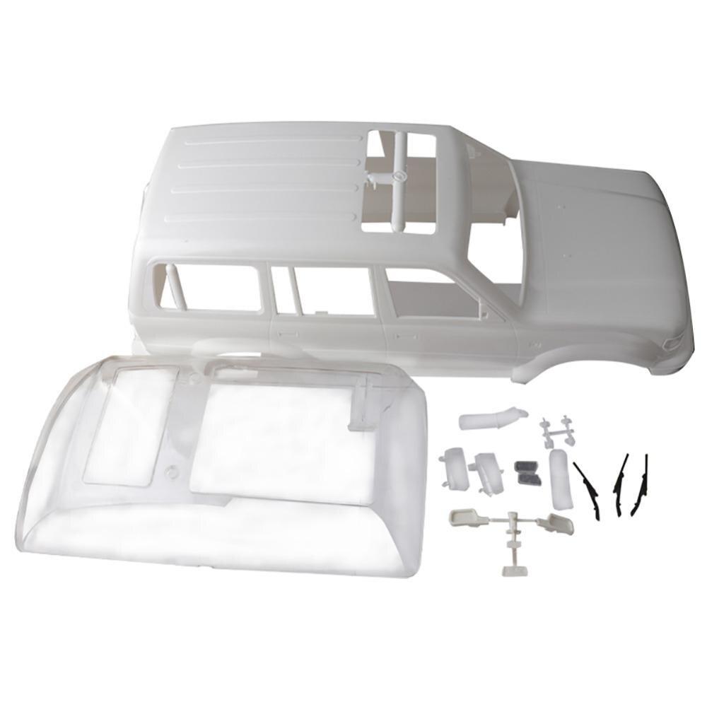 Land Cruiser clásico LC80 ABS, carrocería de coche de 313mm, 12,3 pulgadas, base de rueda 1/10 para coche, trepador de control remoto para coche Traxxas TRX4 SCX10, accesorios DIY