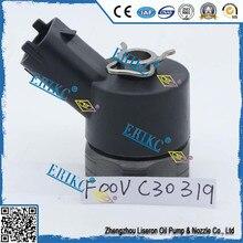 ERIKC F00VC30319 صمام التحكم في ضغط الديزل F 00 فولت C30 319 حاقن عالية السرعة الصلب الملف اللولبي صمام F00V C30 319 ل 0445 110
