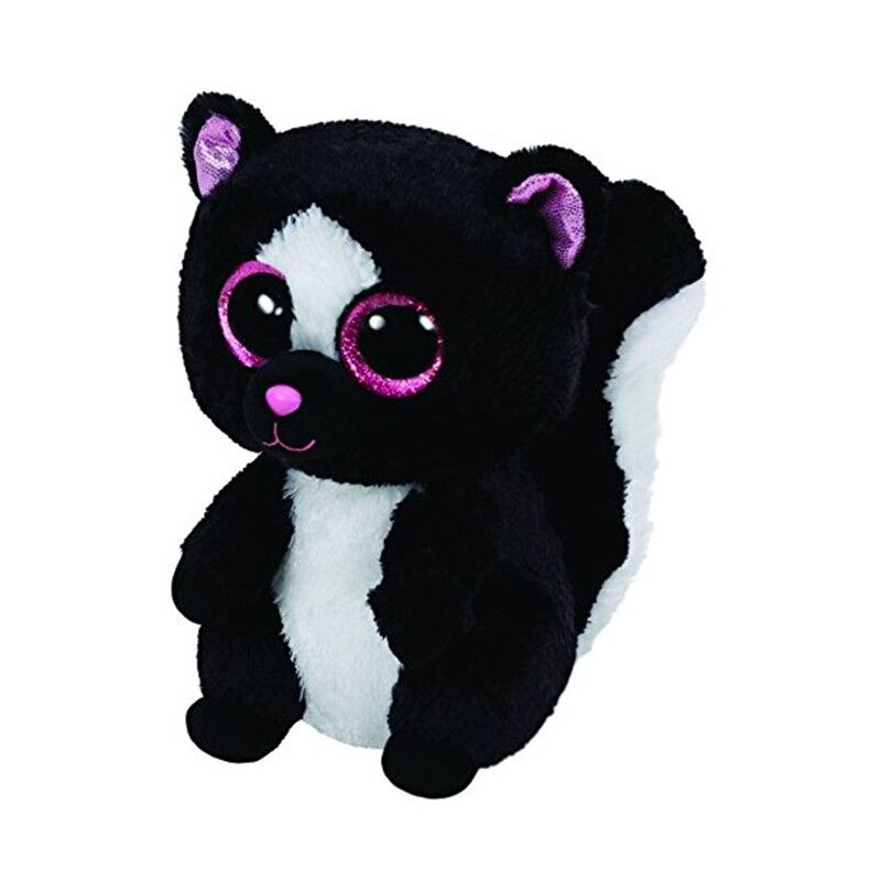 Яркие большие глаза черный Скунс плюшевые куклы чучела животных детские игрушки 15 см