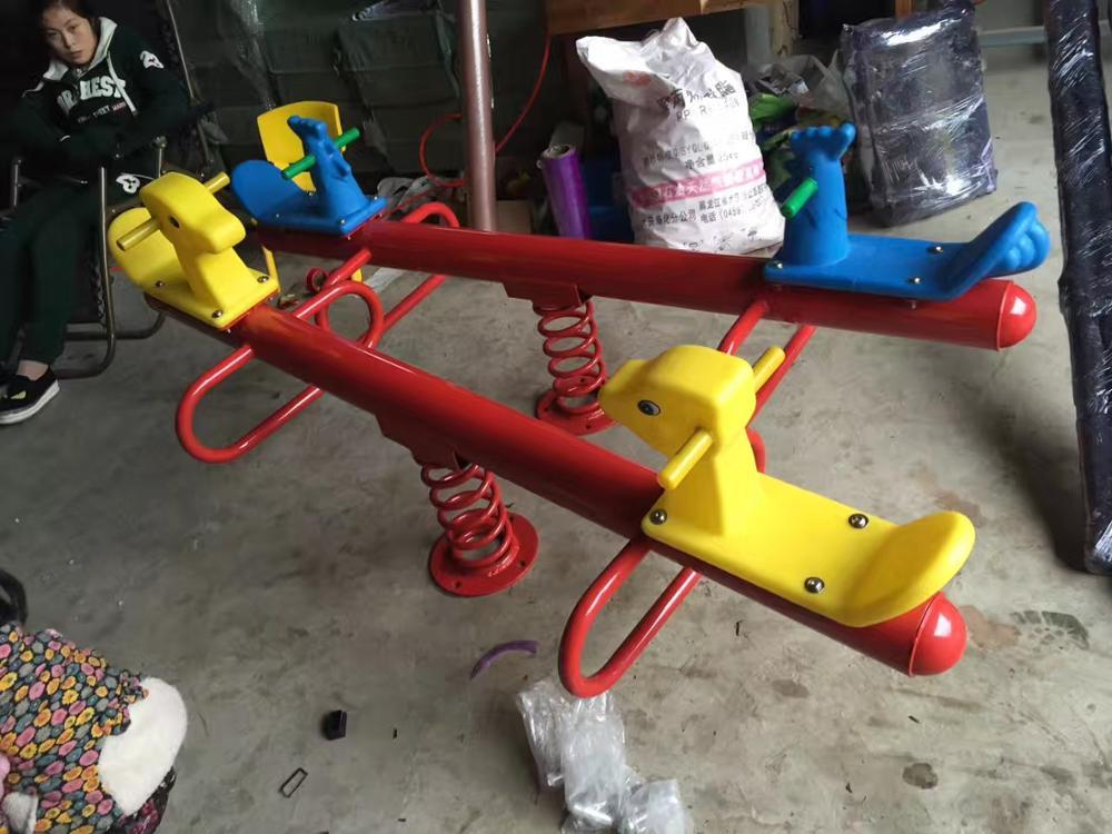 outdoor balance seesaw children seesaw garden toy seesaw chair kids seesaw playground seat  baby seesaw children's horse Q57