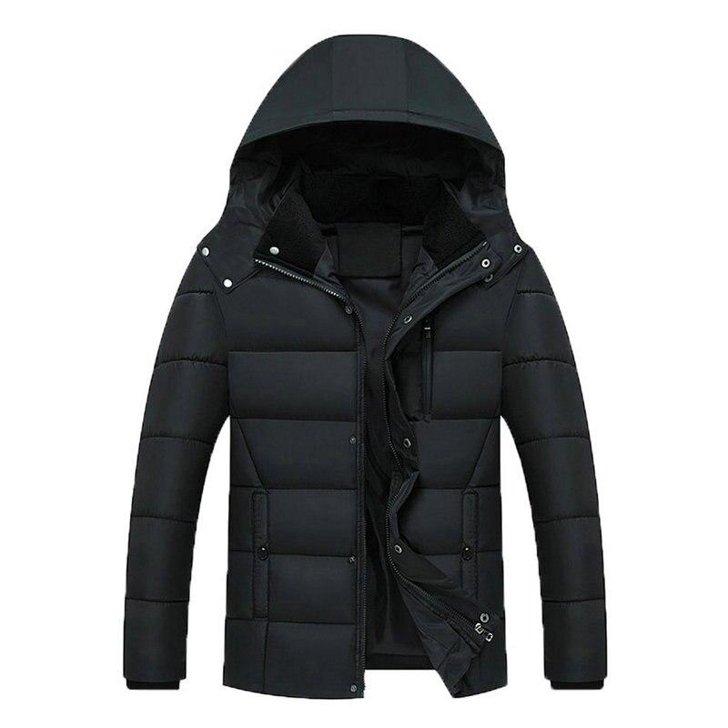 Мужская модная куртка 2021, мужские куртки, Утепленные зимние куртки, повседневная мужская парка с капюшоном, верхняя одежда, куртка с хлопков...