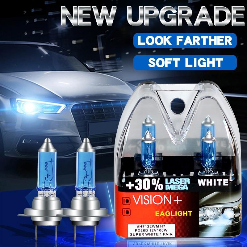 Super White halogen lamp H1 H3 H4 H7 12V 24V  LED Car Headlight Lamp