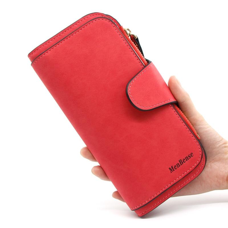 Женский кошелек для женщин, кожаный кошелек, складной винтажный кошелек для карт, Женский кошелек для монет, женский кошелек