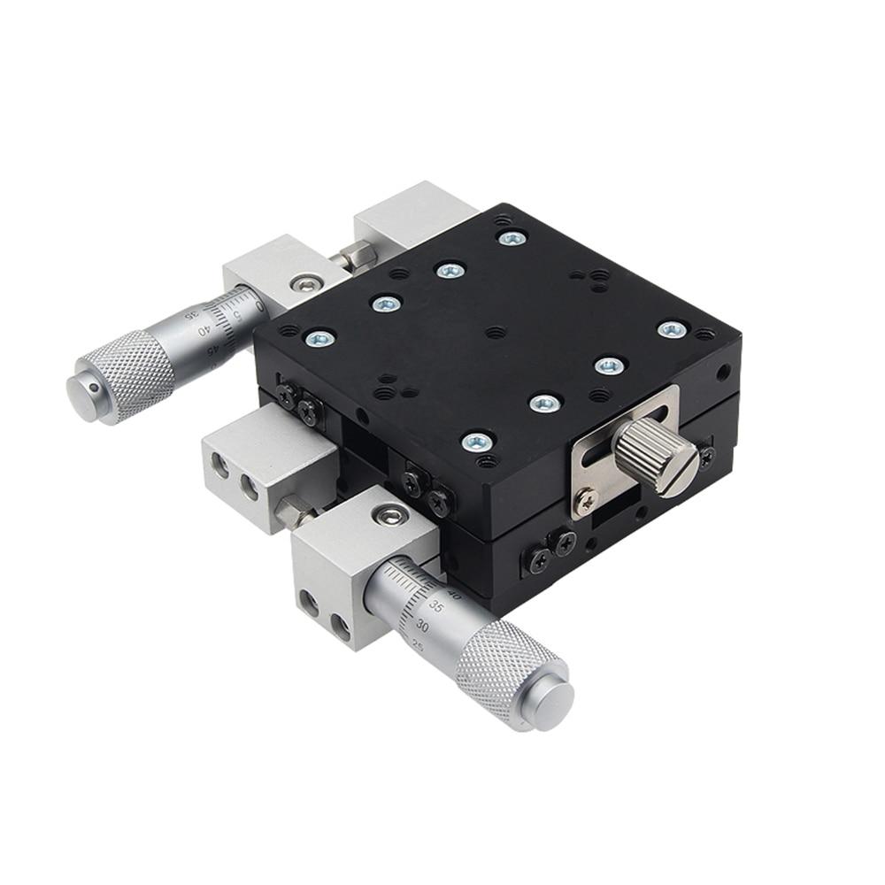 XY محور LY30 30x30 مللي متر البصرية دليل النزوح منصة عالية الدقة انزلاق الجدول عبر السكك الحديدية دليل XY30-C XY30-R XY30-L
