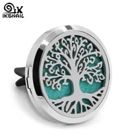 iksnail tree of life car perfume car styling air freshener auto outlet fragrance clip car air vent perfume essential oil diffuse