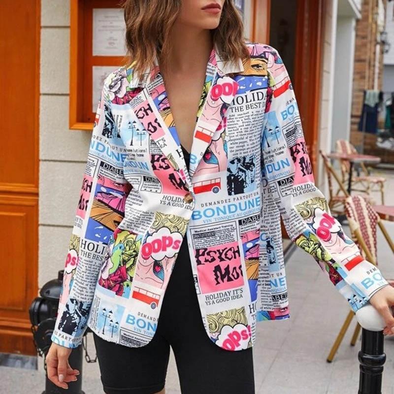 H669767c9efa445aca1e4a3d9d38a8bb8T Fashion Trend Women Lapel Leopard Print Long Sleeves Suit Jacket Elegant Fall Winter Office Lady Cardigan Coat Casual Streetwear