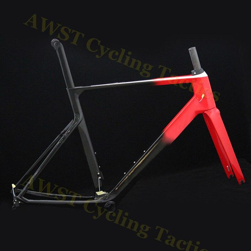 Гравия велосипед дисковая рама 142x12 через аксель и Quik выпуска обмен диск набор