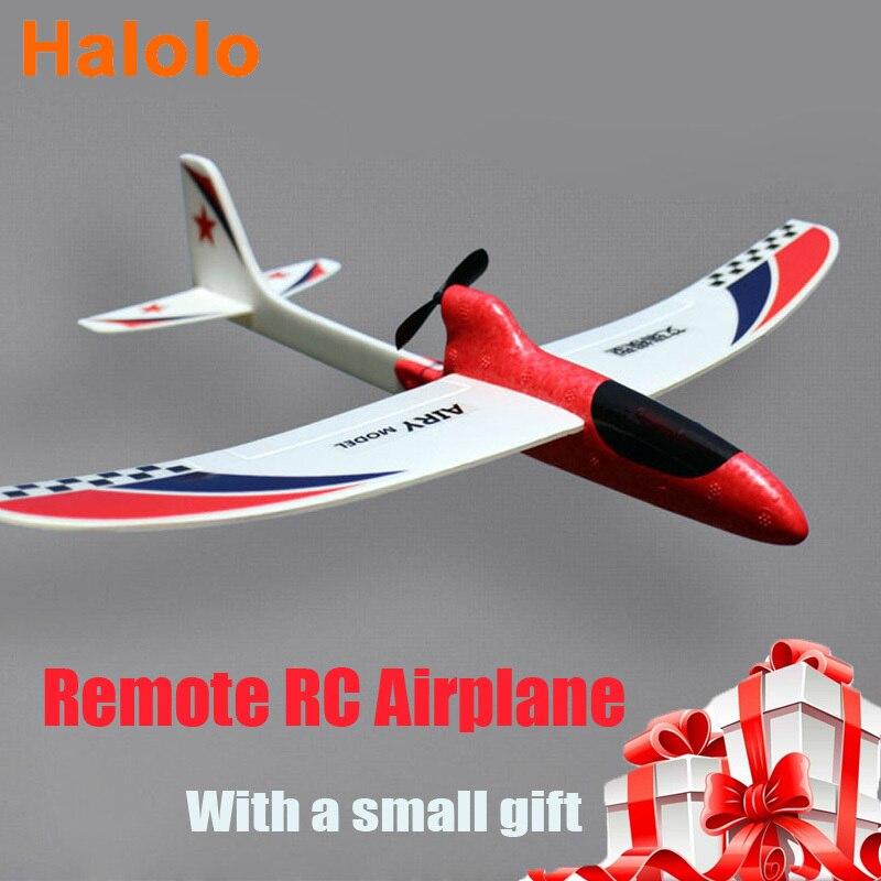 halolo planador de espuma para criancas controlador lancamento manual aviao eletrico