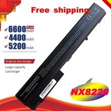 Batterie dordinateur portable pour HP Compaq Cahier Daffaires nc8230 nc8430 nw8200 nw8240 nw8440 nw9440 nx7300 batterie dordinateur portable nx7400 Livraison Gratuite