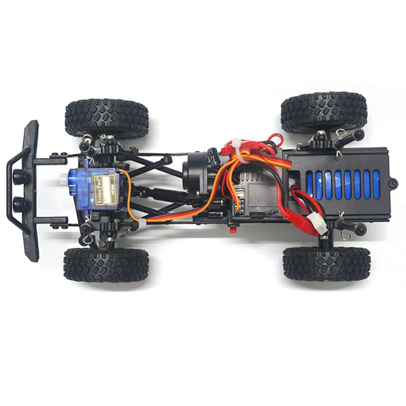 SG-1802 1:18 2.4G 4WD Rc Model Climbing Car Toy With Remote Control 20KM/H High Speed Off-road Vehicle Turck enlarge