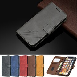 Para iphone xr x xs max iphone 11 pro max caso flip capa de couro para coque iphone 5 5S se 7 8 6 s 6 plus ipod touch 5 6 7 caso