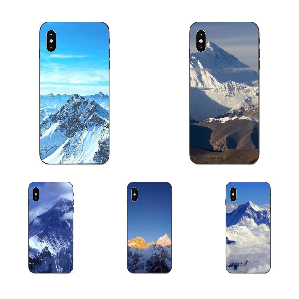 Clouds Mount Everest Sky Soft Cases Fundas For Huawei nova 2 2S 3i 4 4e 5i Y3 Y5 II Y6 Y7 Y9 Lite Plus Prime Pro 2017 2018 2019