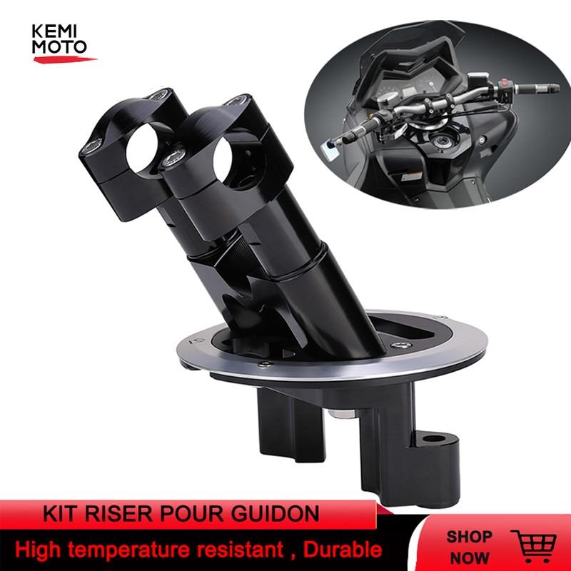 Набор для мотоцикла RISER POUR GUIDON Riser для YAMAHA TMAX 500 2008 -2012 TMAX 530 2012-2014 2015 2016 2017 2018 DX SX запчасти