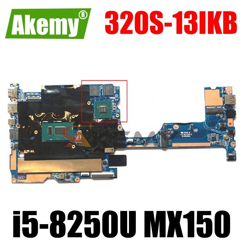 Akemy لينوفو 320S-13IKB 320S-13 اللوحة الأم للكمبيوتر المحمول 1701A_05_01 V13 320S-13 وحدة المعالجة المركزية i5-8250U وحدة معالجة الرسومات 2GB MX150 8GB ذاكرة الوصول العشو...