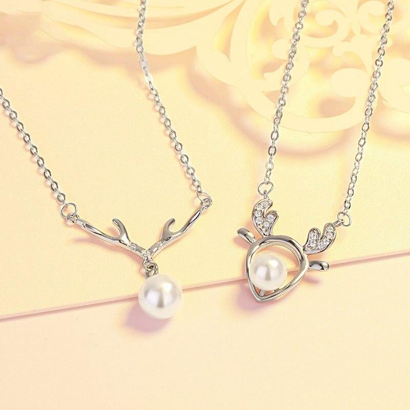 Женское-ожерелье-из-серебра-925-пробы-с-подвеской-в-виде-оленя