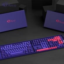 157 Keys Akko Neon Double Shot Key Cap For MX Switch Mechanical Keyboard PBT Dye Subbed Customs Keycaps Cherry Profile