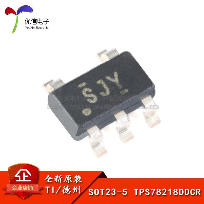 Original TPS78218DDCR SOT23-5 1,8 V 150mA niedrigen ruhestrom linear regler