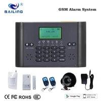 Systeme dalarme GSM sans fil pour la protection des maisons  multilingue  systeme de securite domestique