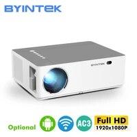 BYINTEK marque K20 Full HD 1080P 1920x1080 Smart Android Wifi LED jeu video Home cinema 3D projecteur projecteur pour 300 pouces cinema