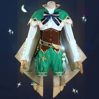 game genshin impact cosplay costumes venti windborne bard cosplay costume uniforms clothes suits dresses wears outfits hot