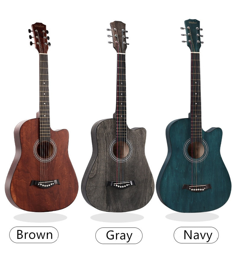 free shipping 38 inch parlor guitar solid wood acoustic guitar flame maple parlor body guitar aaa quality acoustic guitar 38 Inches Acoustic Guitar Beginners 6 Strings Classic Beginner Wooden Guitar Practise Show Guitar Christmas Gift Guitar Acoustic