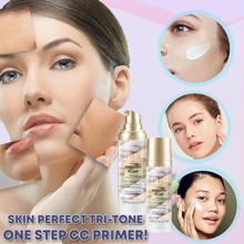 HIH Skin Perfect Tri-tone One Step Cream Moisturizing Concealer Repair Pre-milk 40g maquiagem maquillaje maquillage E0119